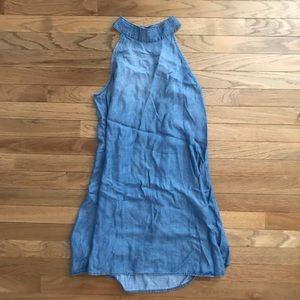 Worn 1X Chelsea & Violet denim dress fits sm-med